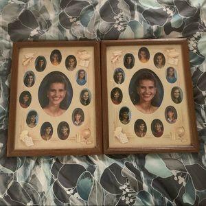 Vintage wooden Picture Frames set Never Used